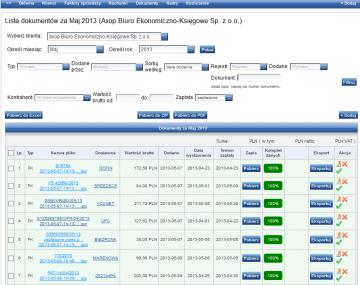 elektroniczne archiwum dokumentów axop biuro rachunkowe 1